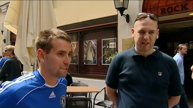 Chelsea prepare for Champions League Final against Bayern Munich Vox pops