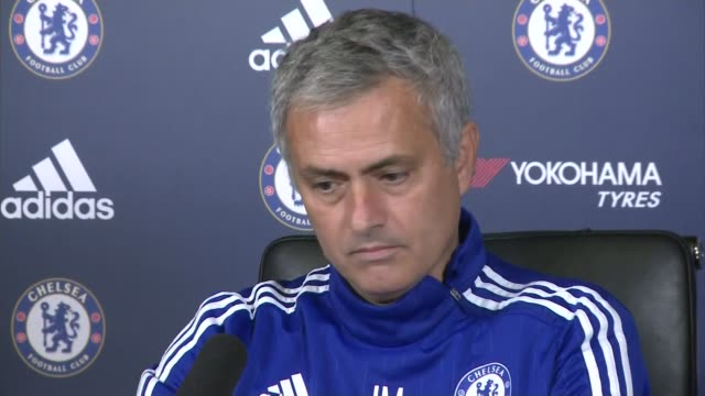 chelsea sack manager jose mourinho t30101532 cobham jose mourinho press conference sot no no i don't want to speak about it [reporter asking have you... - cobham surrey stock videos and b-roll footage