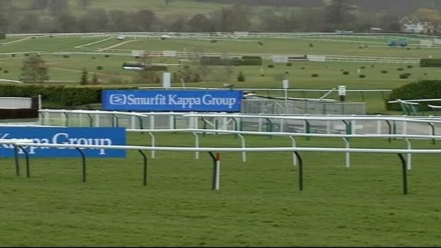 cheltenham 2009: views of racecourse; england: gloucestershire: cheltenham: ext general views of racecourse - cheltenham stock videos & royalty-free footage