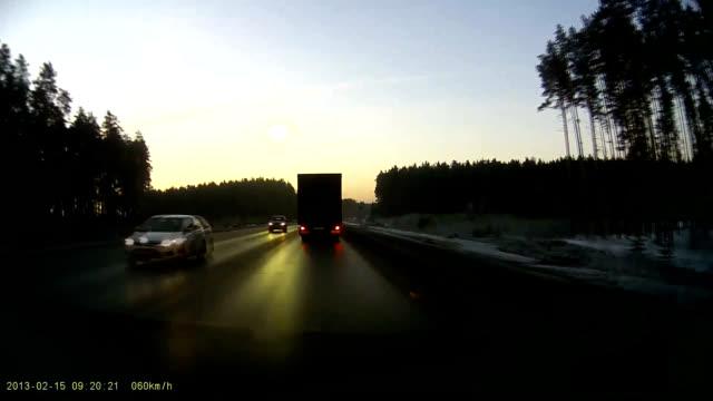 vídeos y material grabado en eventos de stock de chelyabinsk meteor - 2013