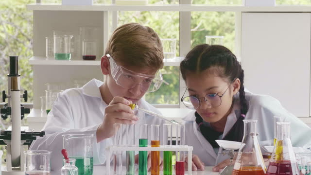 chemical education - chemistry stock videos & royalty-free footage