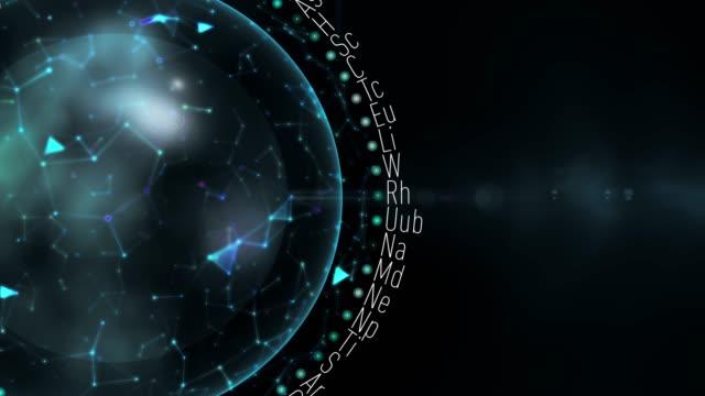 vidéos et rushes de des éléments chimiques - formule chimique