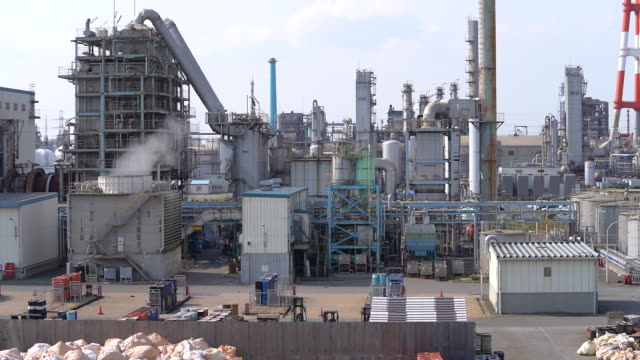 a chemical factory in kamisu ibaraki prefecture japan on wednesday april 29 2020 - japan bloomberg stock videos & royalty-free footage