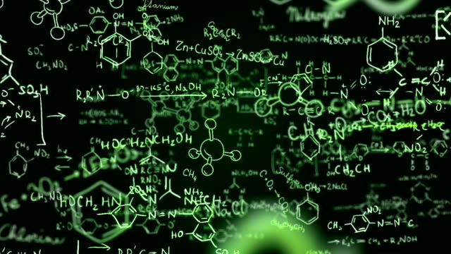 Chemical formulas (green) - Loop