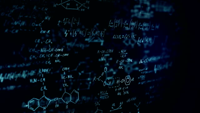 chemical formulas - molecule stock videos and b-roll footage