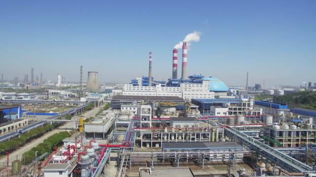 chemical plant - hangzhou stock videos & royalty-free footage