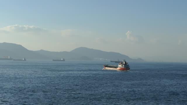 ケミカル タンカー - 石油産業点の映像素材/bロール