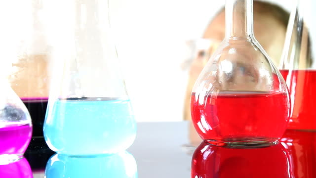 chemist in laboratory - compound interest stock videos and b-roll footage