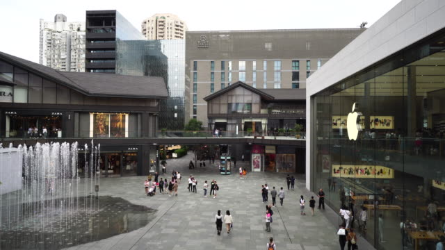 chengdu taikoo li is a popular travel destination and business landmark in the city chengdu is now a fastdeveloping city in southwest china - gafam点の映像素材/bロール