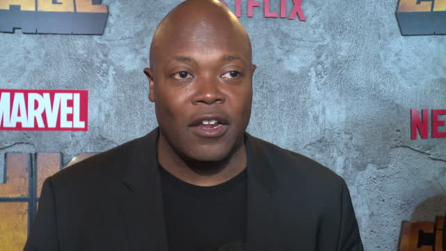 interview – cheo hodari coker on why it's important for us to watch a character like luke cage on screen right now superheroes he was inspired by in... - edison ballroom stock videos & royalty-free footage