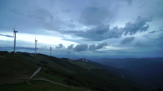 stockvideo's en b-roll-footage met cheongok mountain peak in pyeongchang, gangwon province, south korea - schaduw