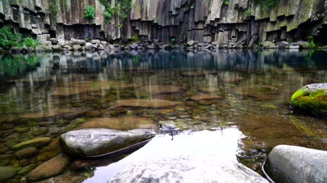 cheonjeyeon watervallen in Jeju Isaland