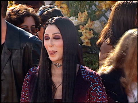 cher at the 2000 emmy awards at the shrine auditorium in los angeles california on september 10 2000 - emmy awards stock videos & royalty-free footage