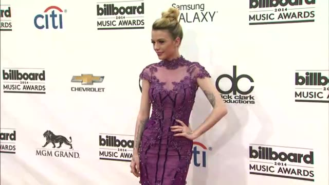 Cher Lloyd at the 2014 Billboard Music Awards Arrivals at the MGM Grand Garden Arena on May 18 2014 in Las Vegas Nevada
