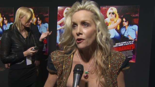 Cherie Currie on her necklace on why she wanted to tell her story now on seeing her life on the big screen and on Dakota Fanning playing her in the...