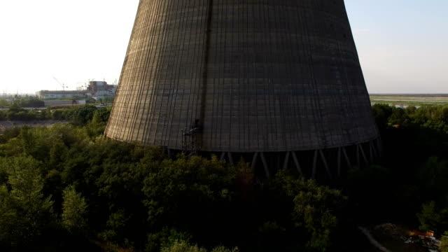 vídeos de stock e filmes b-roll de chernobyl: aerial imagery - nuclear fallout