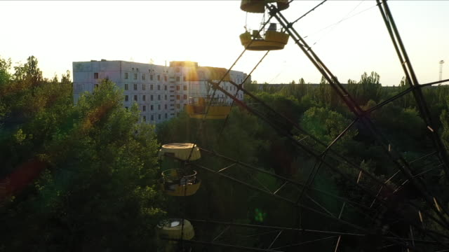 chernobyl ferris wheel - nuclear fallout stock videos & royalty-free footage