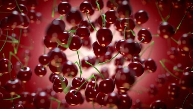 cherries - cherry stock videos & royalty-free footage
