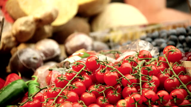 cherry tomatoes - cherry tomato stock videos & royalty-free footage