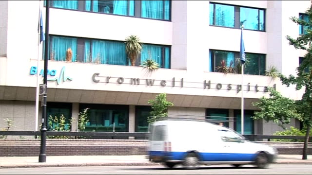 chery cole moved to hospital for tropical diseases to treat malaria cromwell hospital general views of hospital building - microscopic animal stock videos and b-roll footage