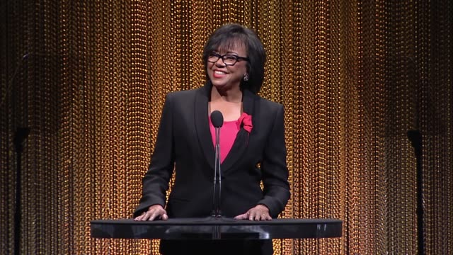 cheryl boone isaacs at 88th annual oscars® nominees luncheon at the beverly hilton hotel on february 08, 2016 in beverly hills, california. - the beverly hilton hotel stock videos & royalty-free footage