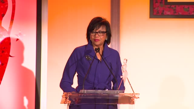 cheryl boone isaacs at the 7th annual essence black women in hollywood luncheon at beverly hills hotel on february 27, 2014 in beverly hills,... - beverly hills hotel stock videos & royalty-free footage