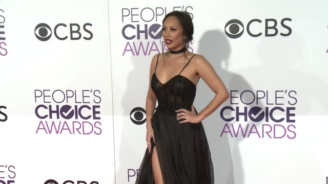 Cheryl Burke at the People's Choice Awards 2017 at Microsoft Theater on January 18 2017 in Los Angeles California