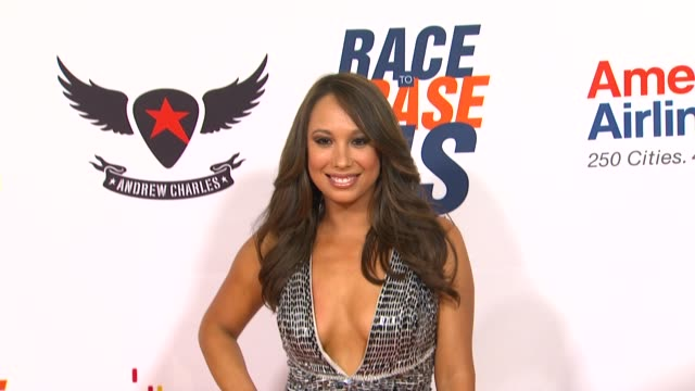 cheryl burke at the the 18th annual race to erase co-chaired by nancy davis and tommy hilfiger at los angeles ca. - ナンシー デイヴィス点の映像素材/bロール