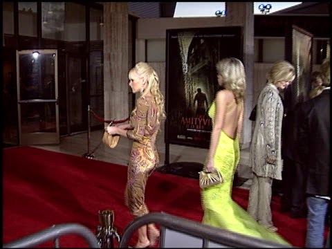 cheryl cambell at the Premiere of 'The Amityville Horror' at Arclight Cinemas in Hollywood California on April 7 2005