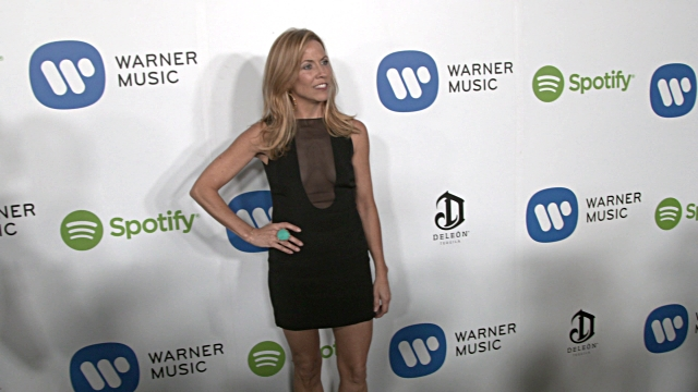 cheryl crow at warner music group hosts annual grammy celebration in los angeles ca - sheryl crow stock videos & royalty-free footage