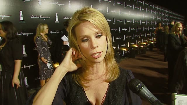 cheryl hines on her ferragamo shoes and bag, why she likes ferragamo, the most fun she's had in ferragamos, how many pairs of shoes she has, what her... - salvatore ferragamo stock videos & royalty-free footage