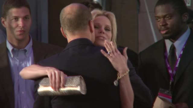 cheryl hines, woody harrelson, and andrea savage at the 'the grand' at the 2007 tribeca film festival at bmcc tribecapac in new york, new york on... - woody harrelson stock-videos und b-roll-filmmaterial