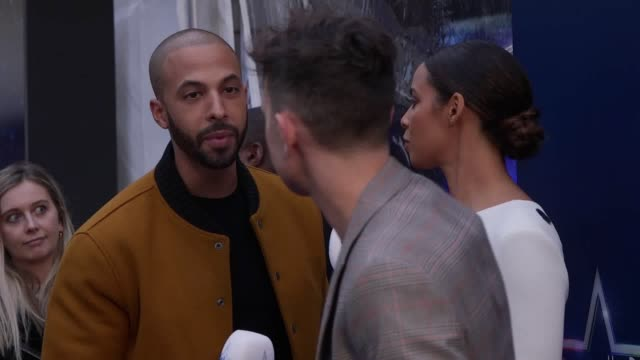 Cheryl the Little Mix and Emma Bunton arrive at The Global Awards 2019 Interviews with John Newman and Olly Murs