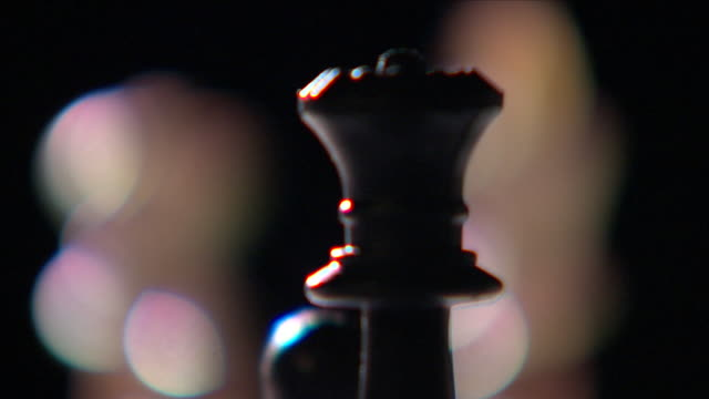 chess board and pieces - chess stock videos & royalty-free footage