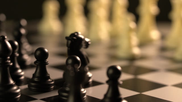 chess business concept - risk stock videos & royalty-free footage