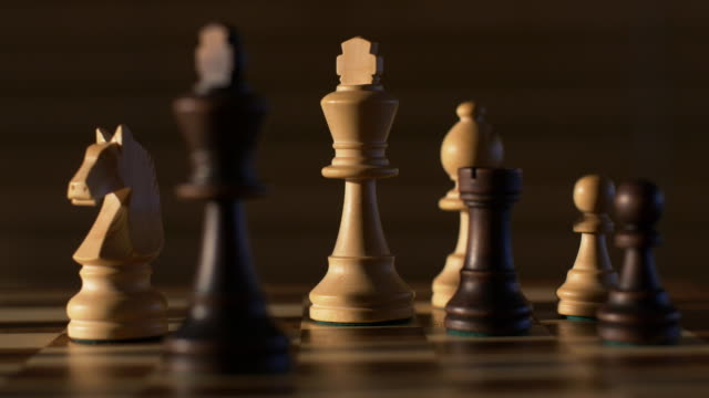 chess dolly shot - chess stock videos & royalty-free footage