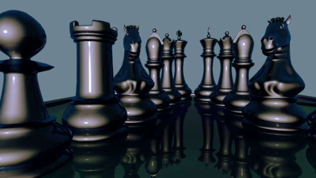chess figures 3d animation version2