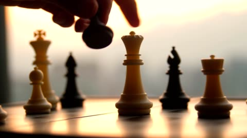 chess game - choice stock videos & royalty-free footage