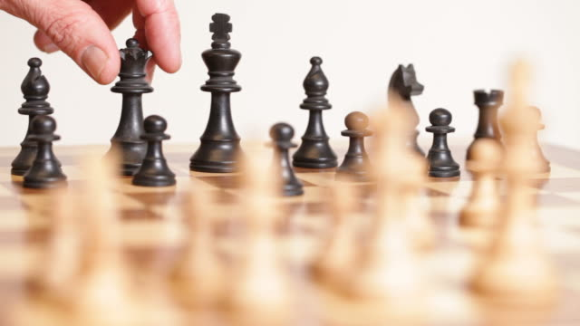 chess master - chess stock videos & royalty-free footage