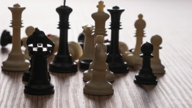 chess piece - chess piece stock videos & royalty-free footage