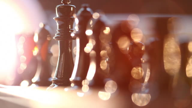 chess set - chess stock videos & royalty-free footage