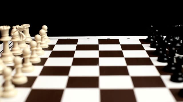 scacchi - scacchi video stock e b–roll