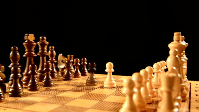 stop motion: chess - chess stock videos & royalty-free footage