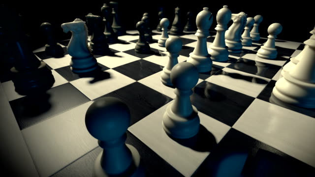 chessboard - chess stock videos & royalty-free footage
