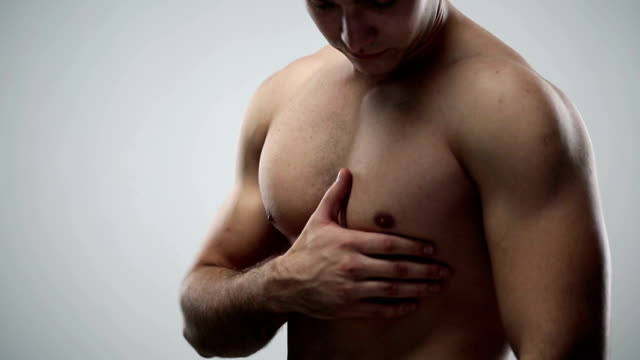 chest pain - torso stock videos and b-roll footage