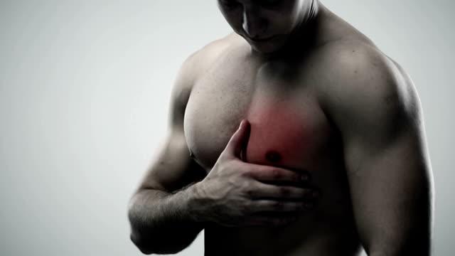 Douleurs à la poitrine