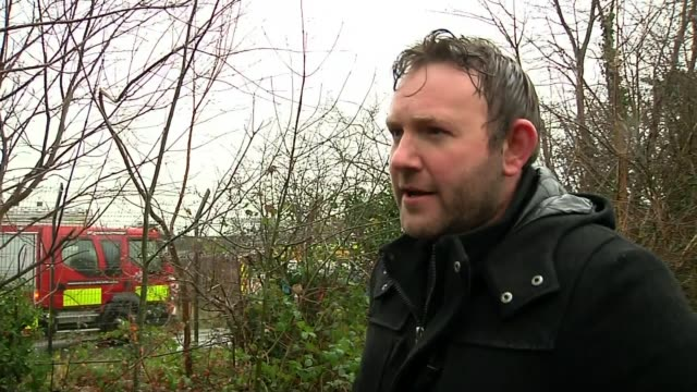 Chester Zoo visitors evacuated after fire ENGLAND Cheshire Chester EXT James Coe interview SOT