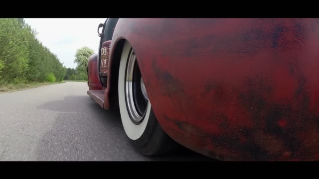 chevrolet 3100 moving - matte stock videos & royalty-free footage