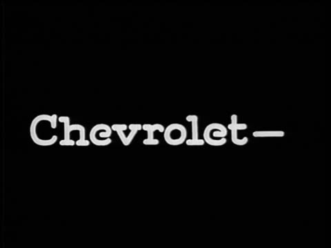 "vidéos et rushes de b/w 1928 slate: ""chevrolet-quality at low cost"" / industrial - 1928"