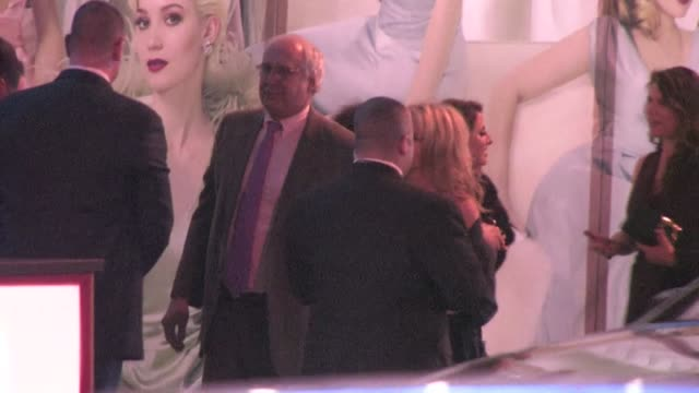 chevy chase arrives at the 2012 vanity fair oscar party in west hollywood ca 02/26/12 - oscar party stock-videos und b-roll-filmmaterial
